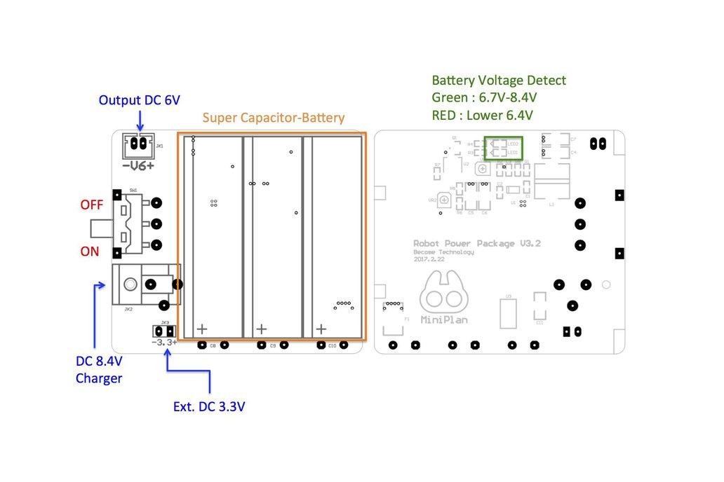 MiniPlan V6 Servo Control Board 8
