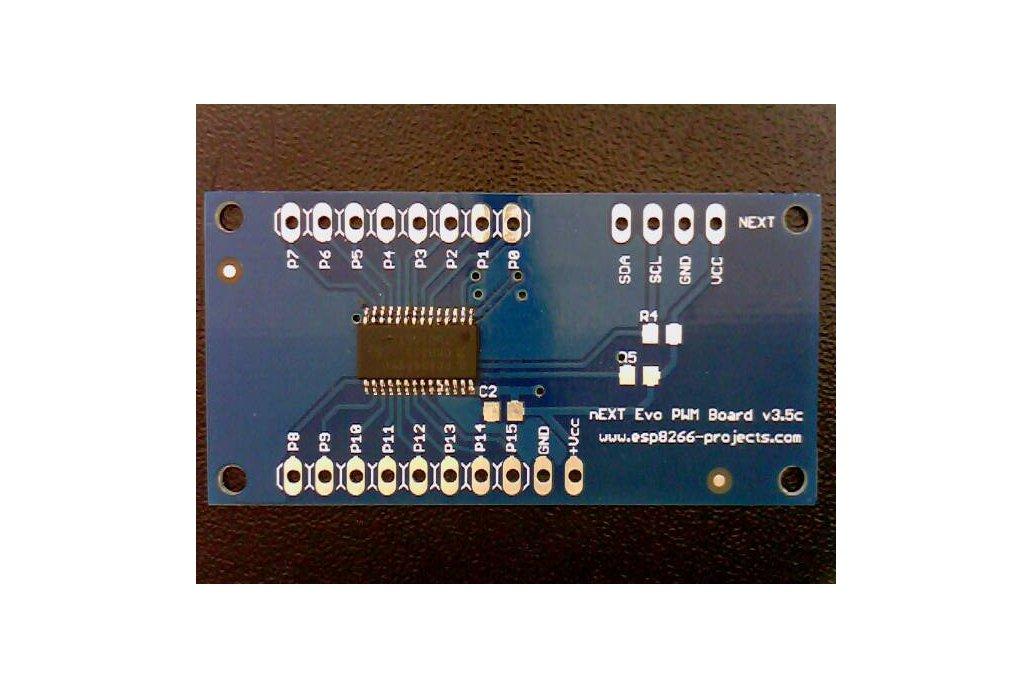 16Channel 12bit PWM I²C  LED/Servo Driver- PCA9685 1