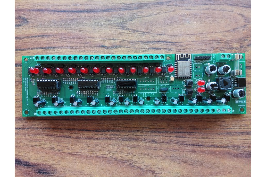 Wifi 12 Digital Input, output Board for Automation 2
