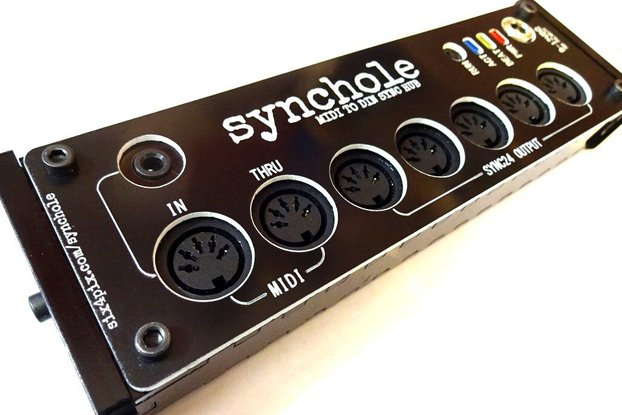 Synchole - MIDI to DIN SYNC box