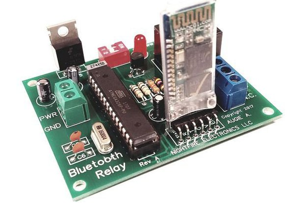 Arduino Bluetooth Relay Board Kit - Built & Tested