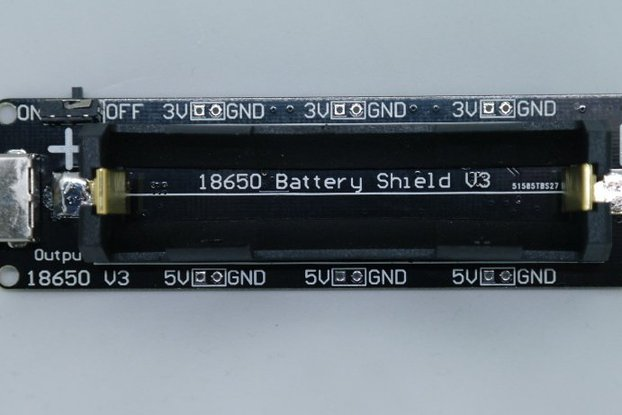 18650 Battery shield V3(RaspberryPi&Arduino)