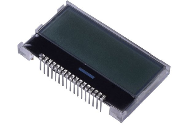 128x32 COG Graphic LCD - SPI