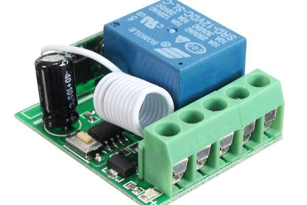 Relay Wireless RF Remote Control Switch Receiver W