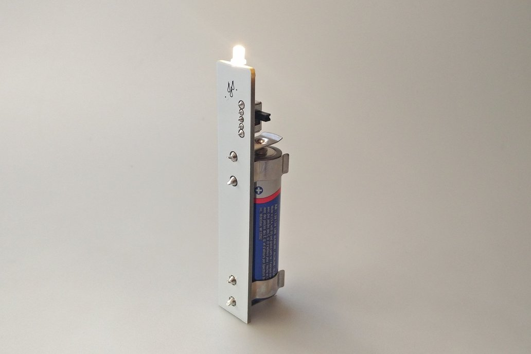 Single LED Joule Thief Candle 3