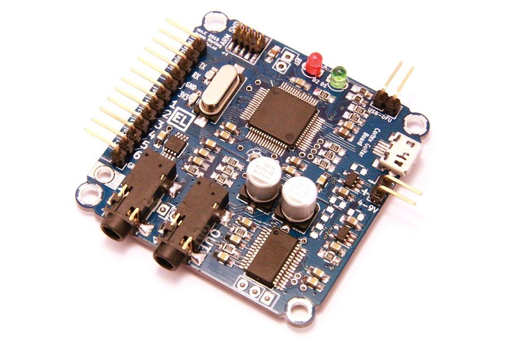 Cortex-M4 audio effects development board from Elemental