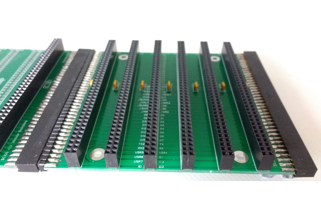 Modular Backplane Boards for RC2014 4