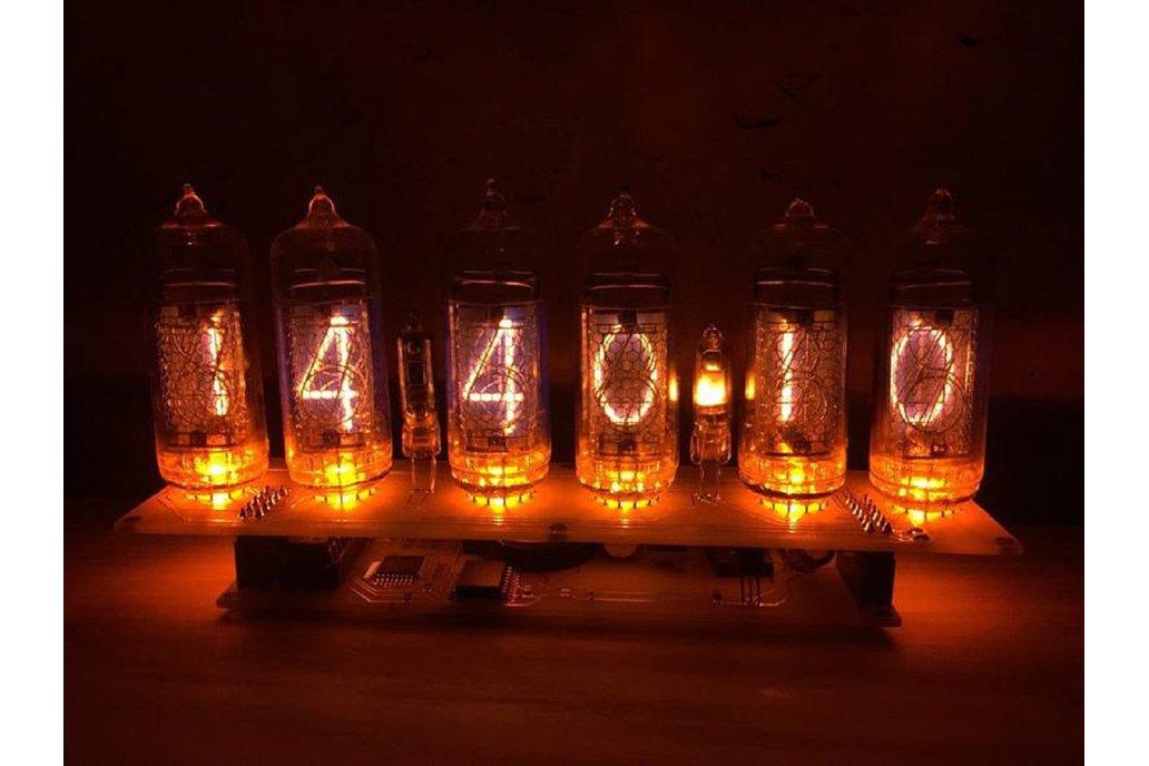 Fully assembled Nixie Tube Clock 1