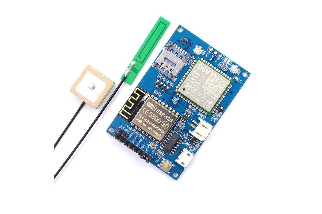 ESP8266 ESP-12S A9G GSM GPRS+GPS IOT Node 1