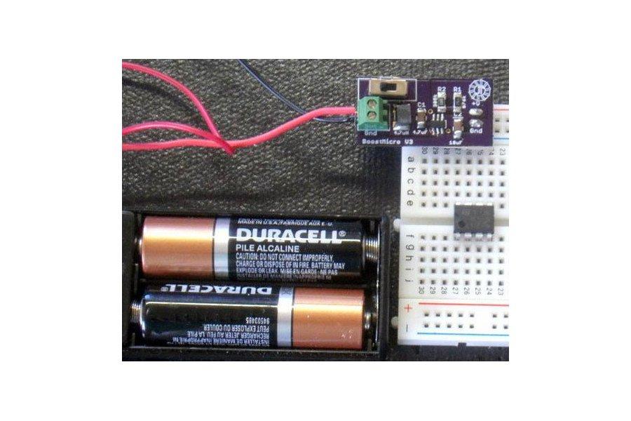 BoostMicro - 5 Volt Power Supply,  DIY Kit