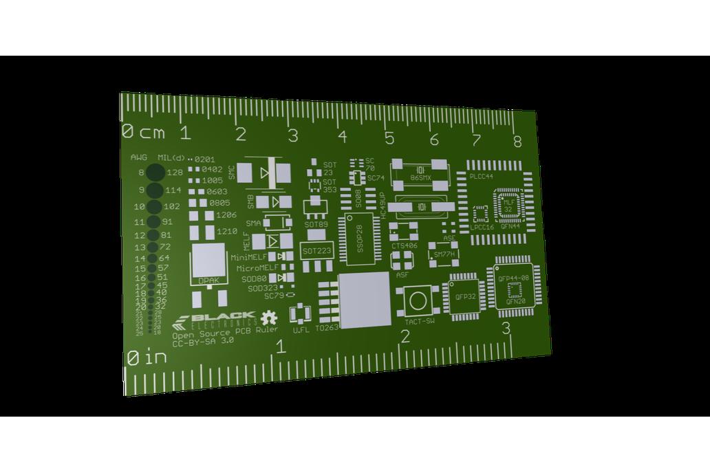 Open Source PCB Ruler 1