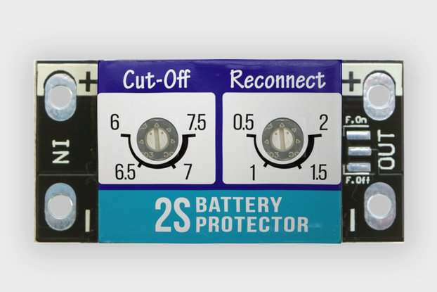 5A LiPO BATTERY PROTECTOR / LOW VOLTAGE CUT-OFF