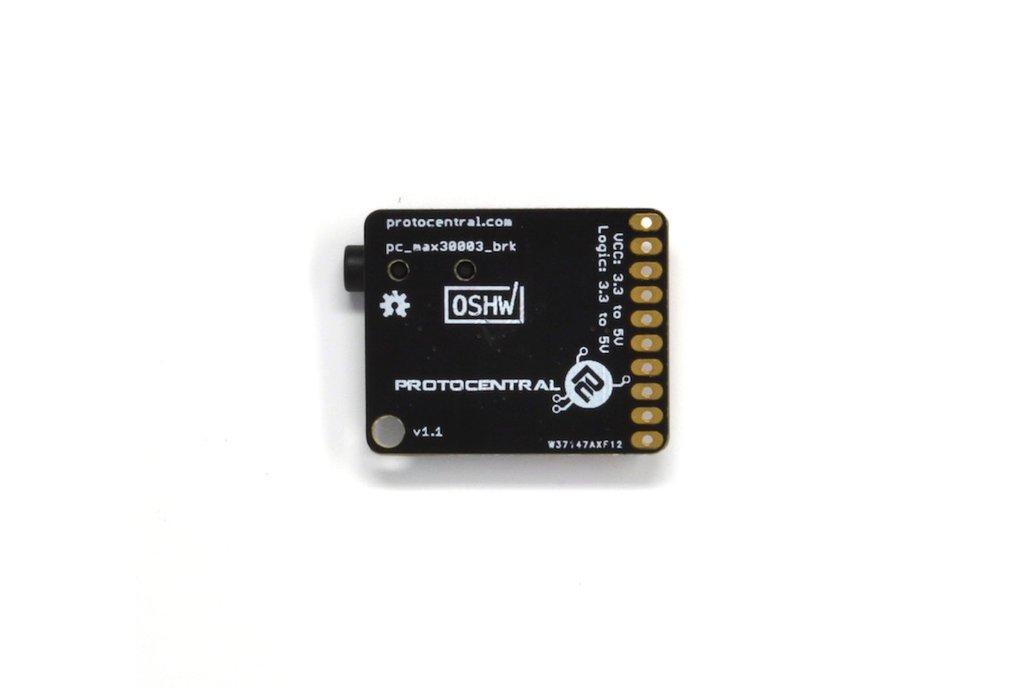 MAX30003 Single-lead ECG Breakout Board 2