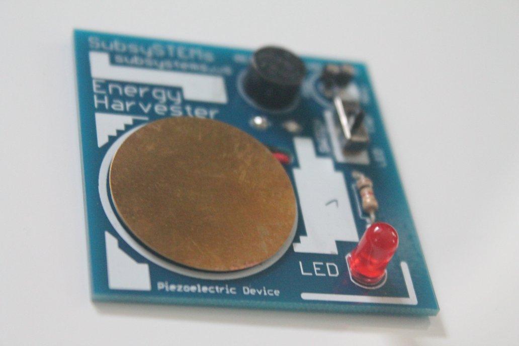 Piezoelectric Energy Harvester 1