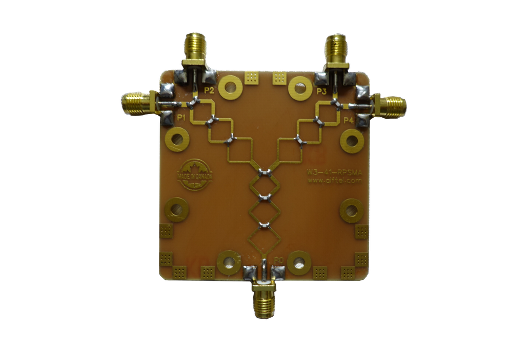 4-Port RF Splitter/Combiner for WiFi and BT 1