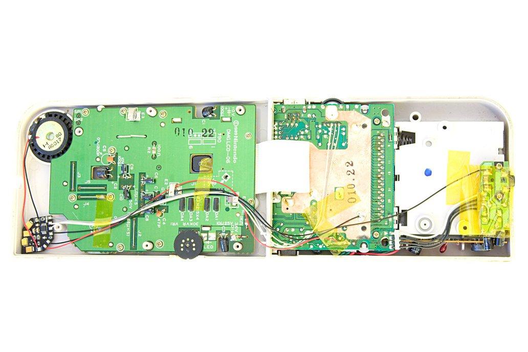 GBAmp3 sound mod for Game Boy 3