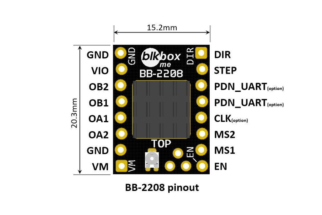 Stepping Motor Driver TMC2208