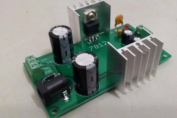 DIY Mini Dual Power Supply (+12V/-12V)