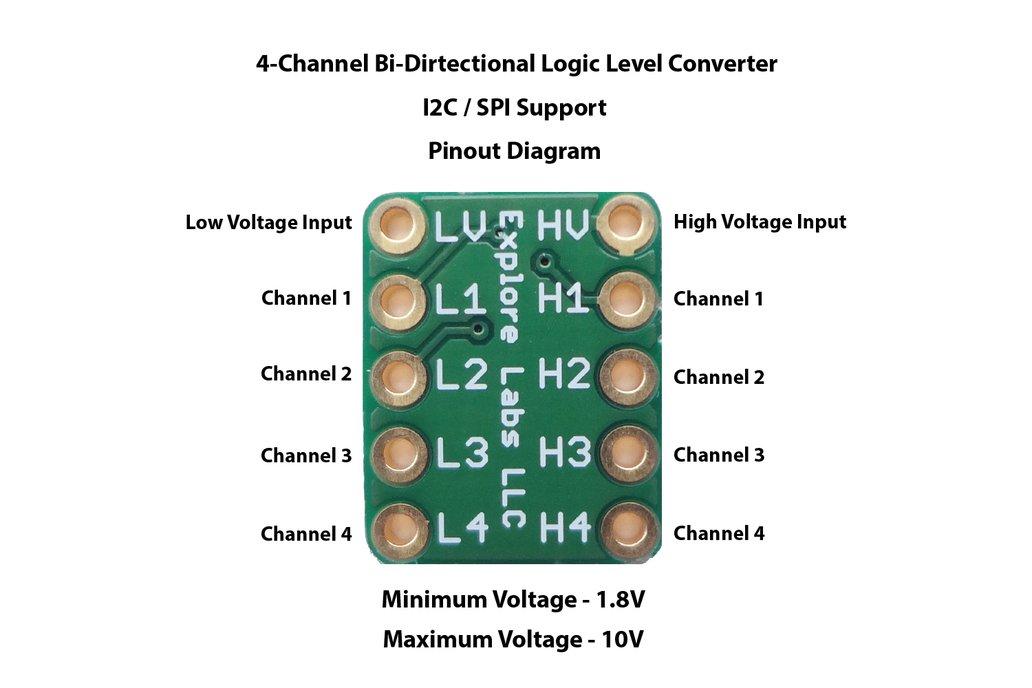 4-Channel Bi-Directional Logic Level Converter 1