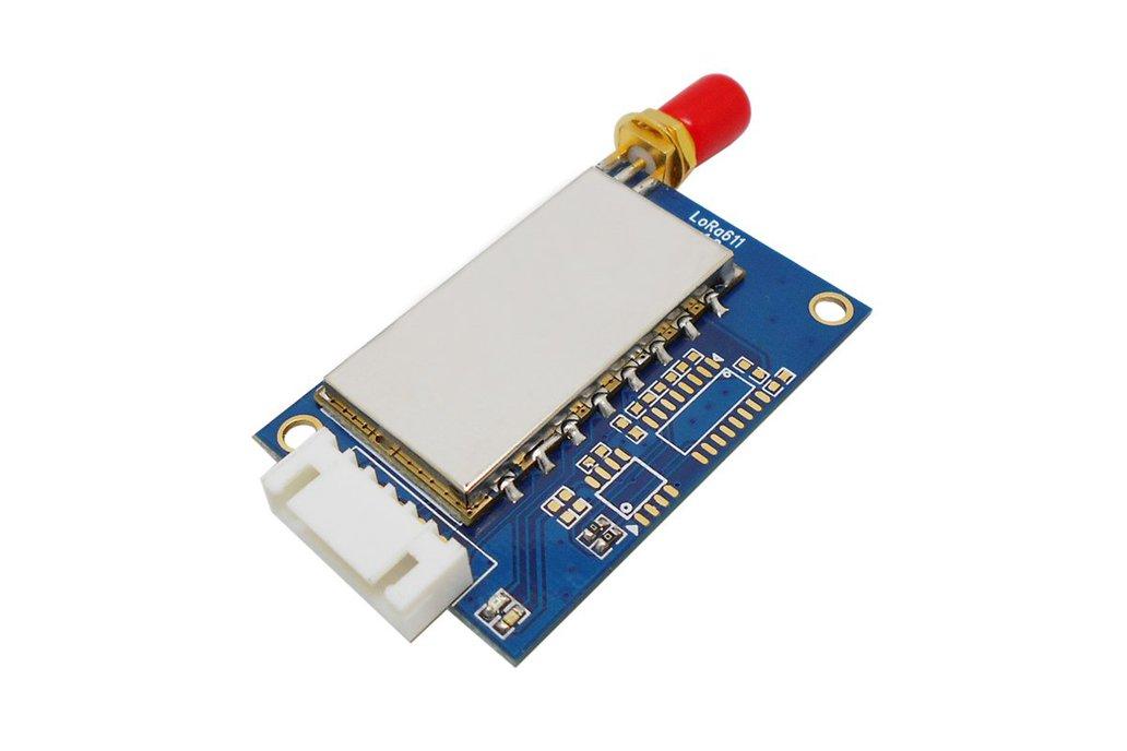 2pcs Lora611 433MHz TTL interface 100mW RF Module 1