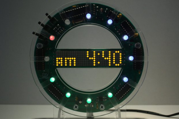 RGB Color Clock KIT