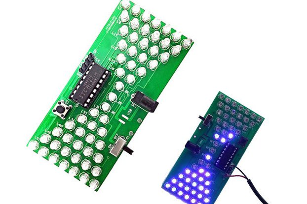 Electronic Hourglass DIY Kit with LED Lamps(12309)