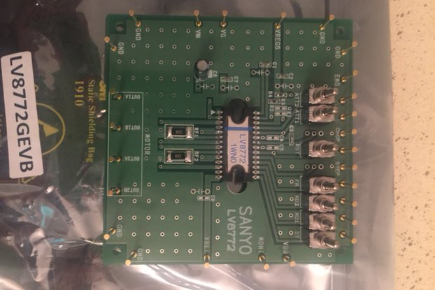 On Semi LV8772 Motor Driver Board