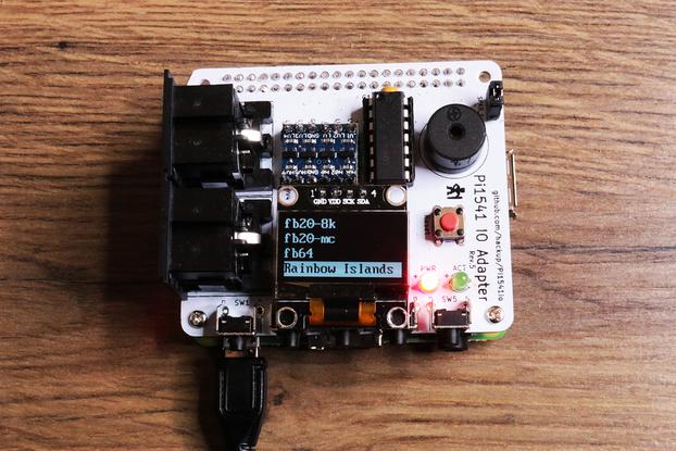 PI1541 hat for Raspberry PI with OLED PI1541IO IO