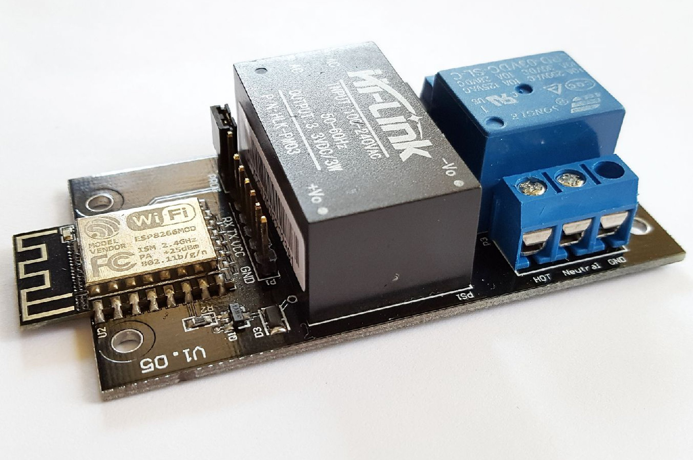 Esp8266 Home Automation Relay From Bmo Technology On Tindie Power Switchover 1