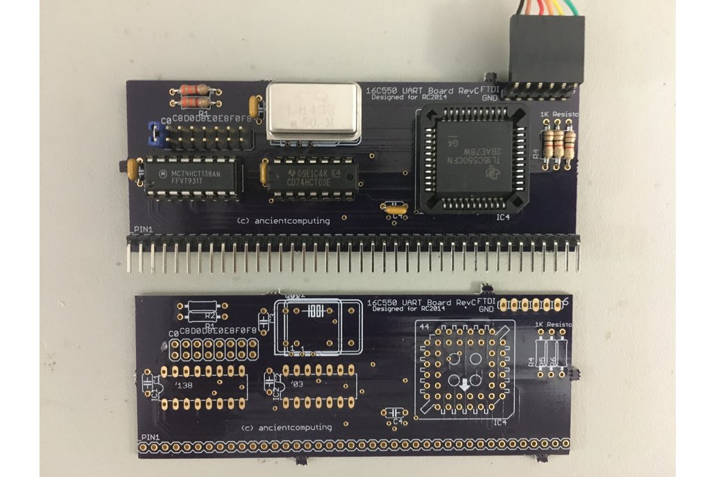 16C550 UART Board for RC2014 2