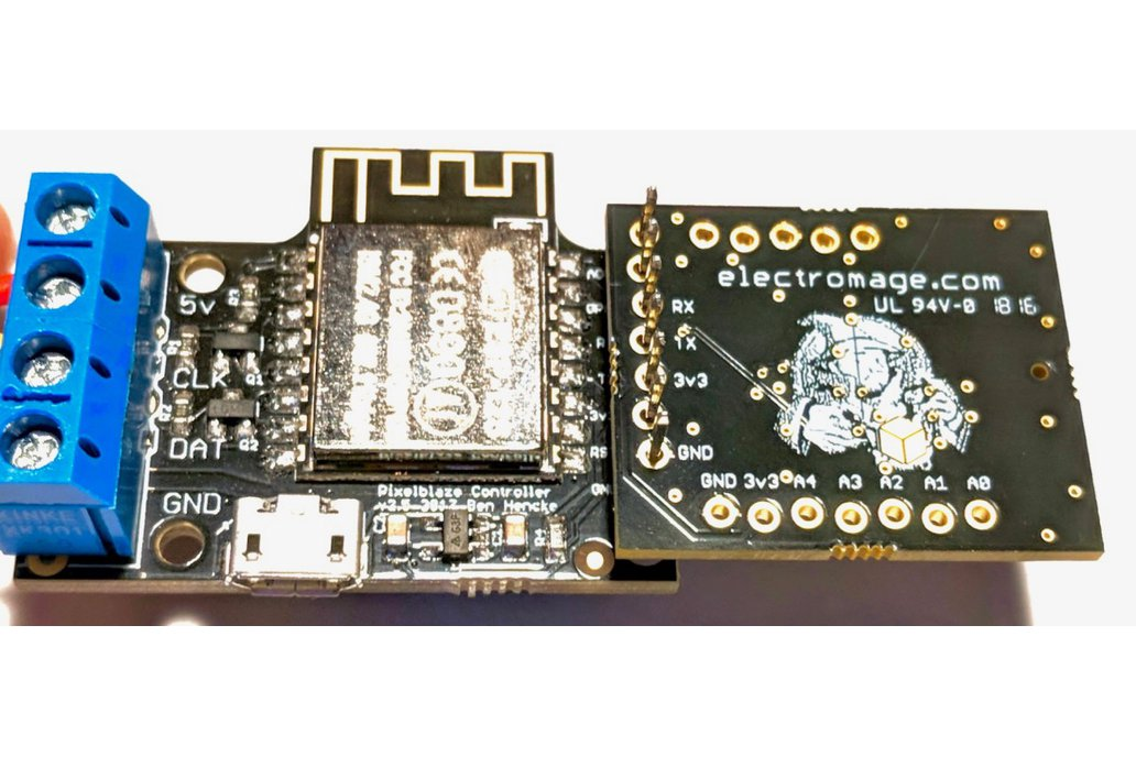 ElectroMage Pixelblaze Sensor Expansion Board 3