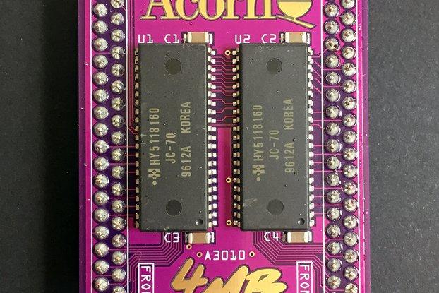 PurpleRAM 4MB 60ns Acorn Archimedes A3010 module