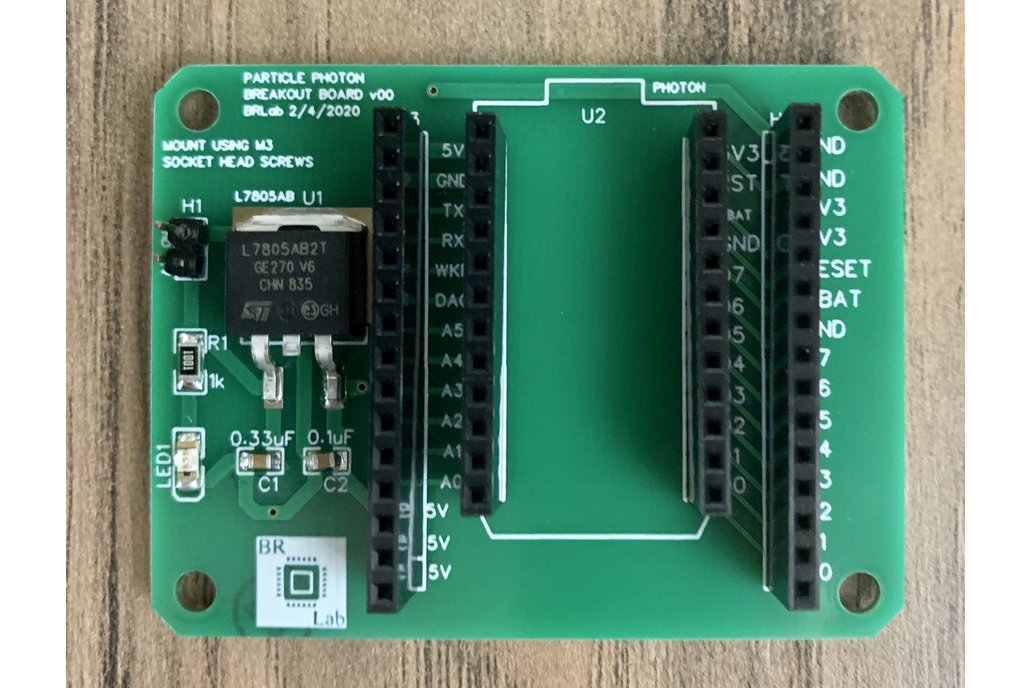 Particle Photon Breakout Board 1