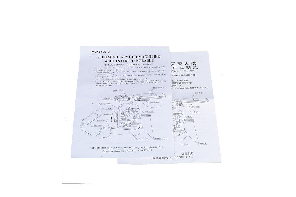LED Multifunctional Magnifier  For Repairing 8