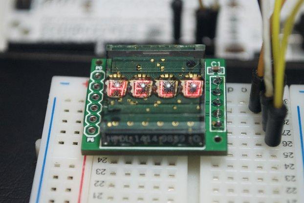 Retro display LED Driver & 16bit I2C I/O expander