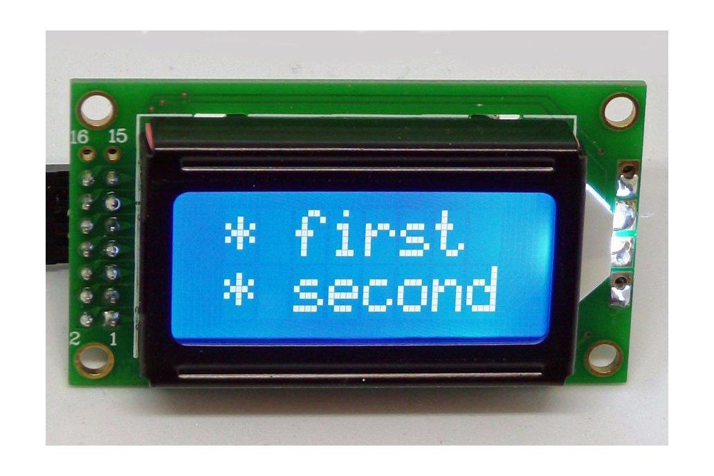 0802 LCD I2C Adapter 3