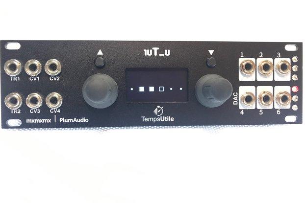 1uT_u - 1u Temps Utile - Eurorack Clock