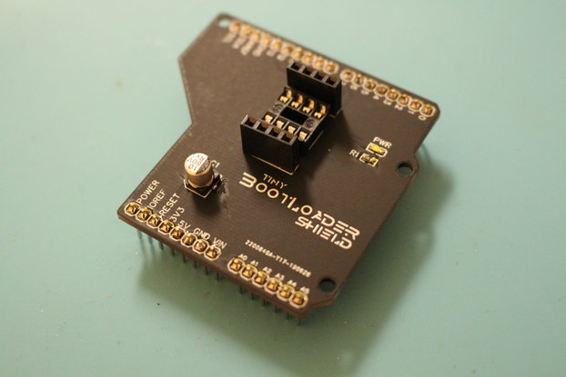 Tiny Bootloader Shield