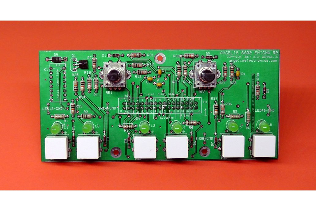 """6602 """"Enigma"""" Control Panel  with Green LEDs 1"""