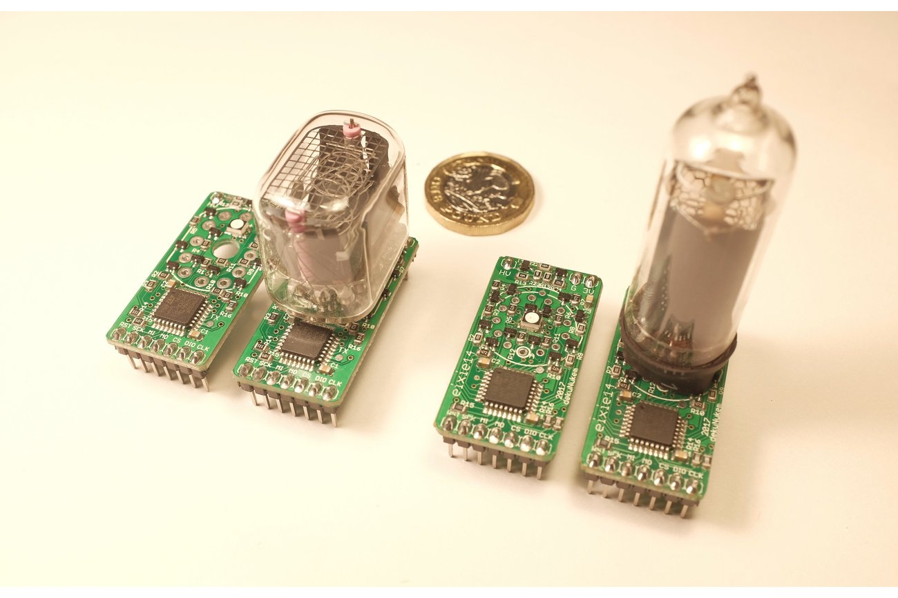 exixe: Miniture Nixie Tube Driver Modules