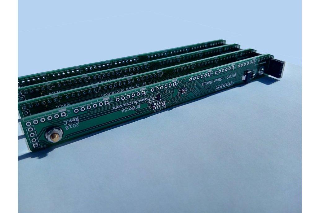 128 Channel ADC w/I2C for Arduino & Raspberry Pi 1