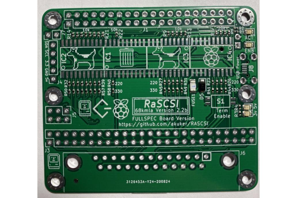 RaSCSI - Macintosh version 1