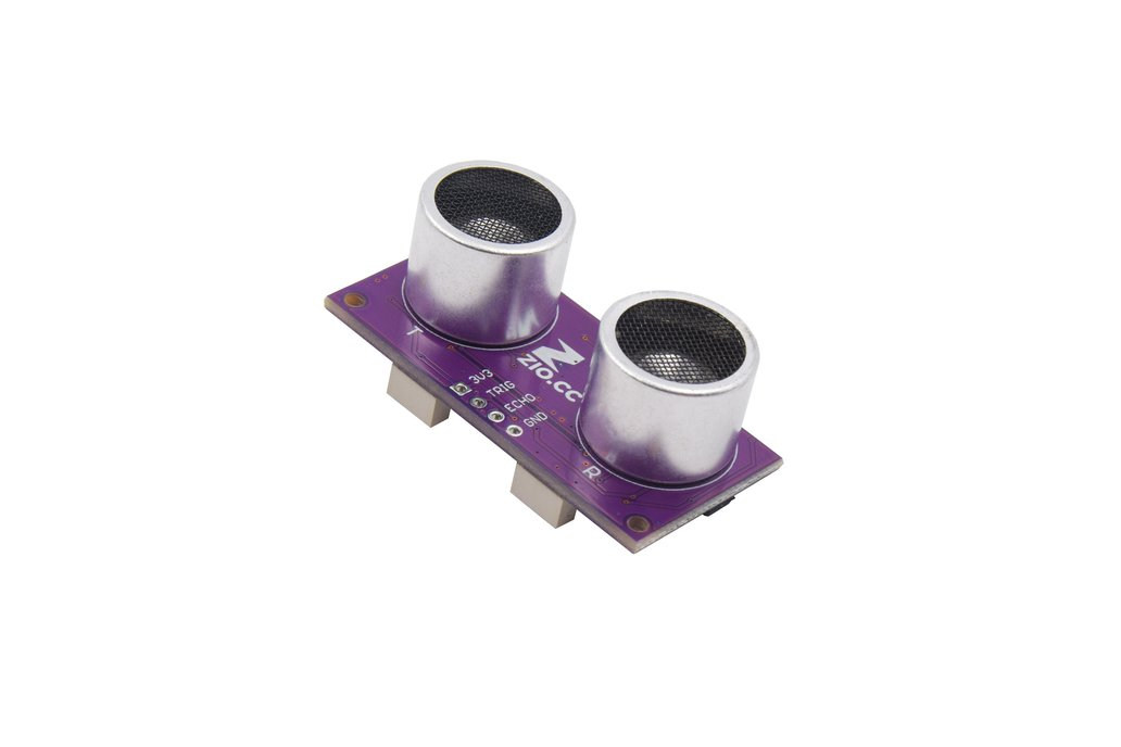 Zio Ultrasonic Distance Sensor (Qwiic, 2 to 400cm) 1