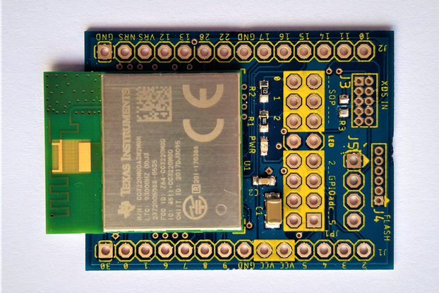 CC3220MODASM Maker Friendly WIFI Prototype board