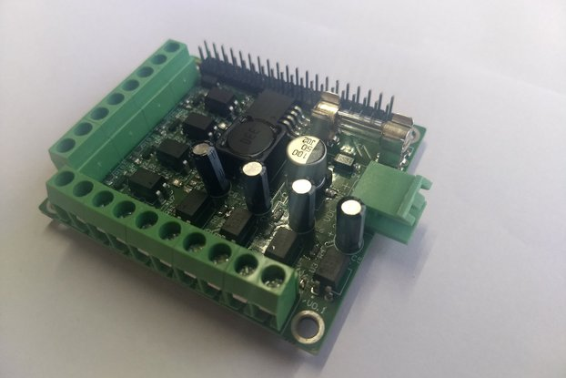 Isolated I/O Module for Raspberry Pi
