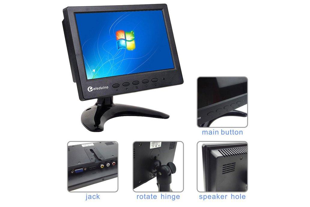 7 inch 1024*600  Monitor 2