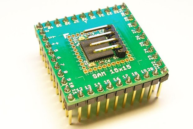SAM15x15 Arduino Zero compatible SAMD21 board