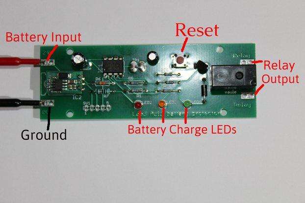 AMY lead acid battery protector off grid solar 24V