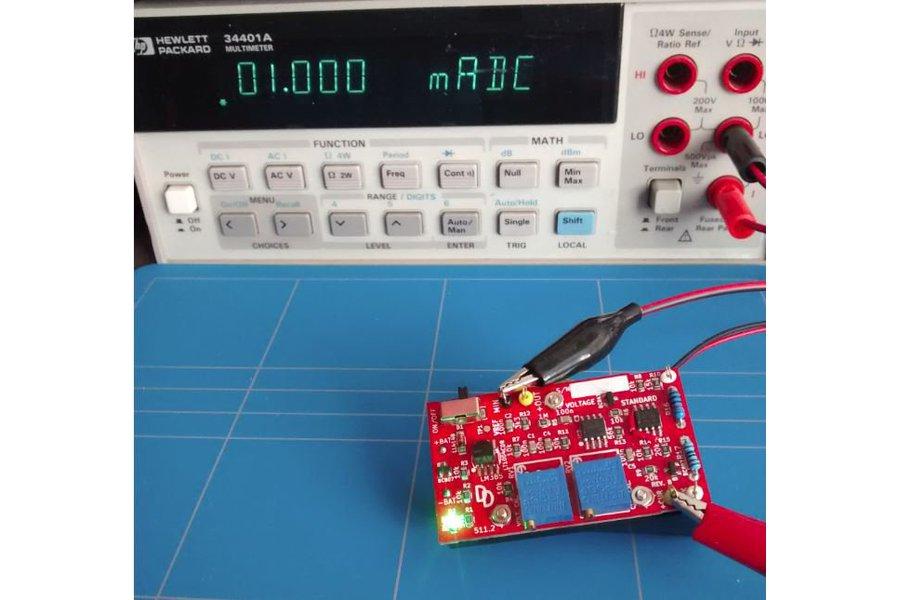Voltage standard reference multimeter tester