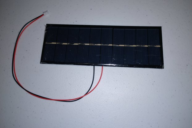 5V 200mA Solar Panel w/ JST connector